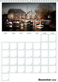 Terminplaner, Ostfriesland, die alten Häfen - Greetsiel, Neuharlingersiel, Carolinensiel (Wandkalender 2018 DIN A3 hoch) - Produktdetailbild 12