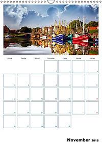 Terminplaner, Ostfriesland, die alten Häfen - Greetsiel, Neuharlingersiel, Carolinensiel (Wandkalender 2018 DIN A3 hoch) - Produktdetailbild 11