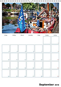 Terminplaner, Ostfriesland, die alten Häfen - Greetsiel, Neuharlingersiel, Carolinensiel (Wandkalender 2018 DIN A3 hoch) - Produktdetailbild 9