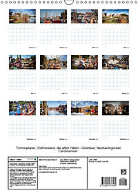 Terminplaner, Ostfriesland, die alten Häfen - Greetsiel, Neuharlingersiel, Carolinensiel (Wandkalender 2018 DIN A3 hoch) - Produktdetailbild 13