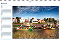 Terminplaner, Ostfriesland, die alten Häfen - Greetsiel, Neuharlingersiel, Carolinensiel (Wandkalender 2018 DIN A3 quer) - Produktdetailbild 4