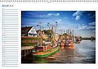 Terminplaner, Ostfriesland, die alten Häfen - Greetsiel, Neuharlingersiel, Carolinensiel (Wandkalender 2018 DIN A3 quer) - Produktdetailbild 1