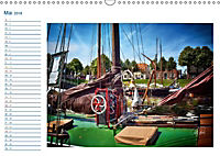 Terminplaner, Ostfriesland, die alten Häfen - Greetsiel, Neuharlingersiel, Carolinensiel (Wandkalender 2018 DIN A3 quer) - Produktdetailbild 5