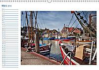 Terminplaner, Ostfriesland, die alten Häfen - Greetsiel, Neuharlingersiel, Carolinensiel (Wandkalender 2018 DIN A3 quer) - Produktdetailbild 3