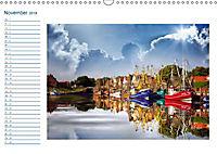 Terminplaner, Ostfriesland, die alten Häfen - Greetsiel, Neuharlingersiel, Carolinensiel (Wandkalender 2018 DIN A3 quer) - Produktdetailbild 11
