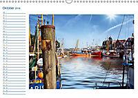 Terminplaner, Ostfriesland, die alten Häfen - Greetsiel, Neuharlingersiel, Carolinensiel (Wandkalender 2018 DIN A3 quer) - Produktdetailbild 10