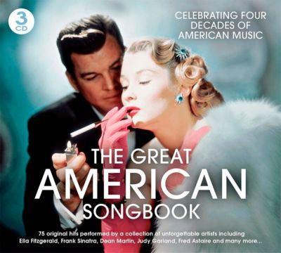 The Great American Songbook, 3 CDs, Diverse Interpreten