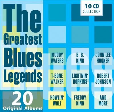 The Greatest Blues Legends - 20 Original Albums, 10 CDs, Various