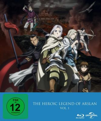 The Heroic Legend of Arslan - Vol. 1 - 2 Disc Bluray, Diverse Interpreten
