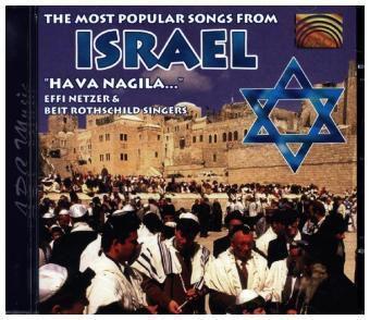 The Most Popular Folk Songs From Israel, Effi Netzer, Beit Rothschild Singers