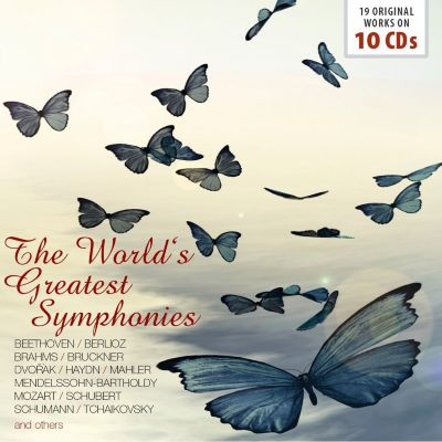 The World Greatest Symphonies, 10 CDs, Various