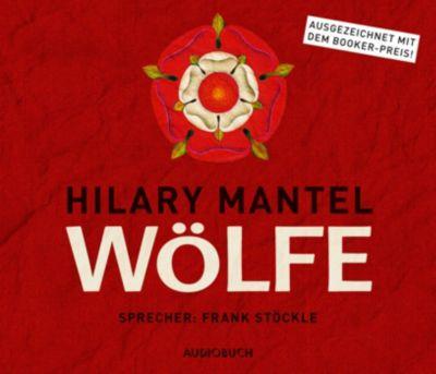 Thomas-Cromwell Band 1: Wölfe, 8 CDs, Hilary Mantel