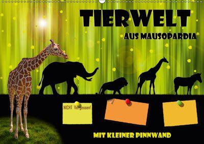 Tierwelt aus Mausopardia (Wandkalender 2019 DIN A2 quer), Monika Jüngling alias Mausopardia