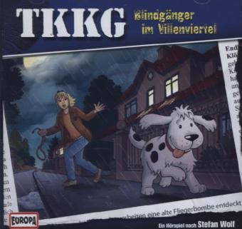 TKKG Band 183: Blindgänger im Villenviertel (1 Audio-CD), Stefan Wolf