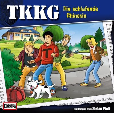 TKKG Band 186: Die schlafende Chinesin (Audio-CD), Stefan Wolf