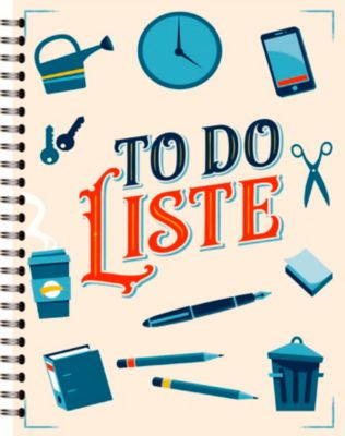To-Do-Liste - Eintragbuch, noovio