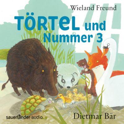 Törtel und Nummer 3, 2 CDs, Wieland Freund