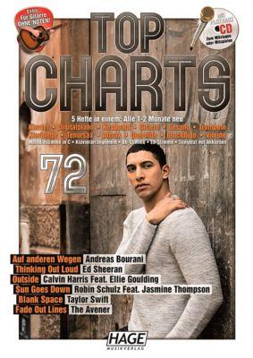 Top Charts 72, mit Playback-CD