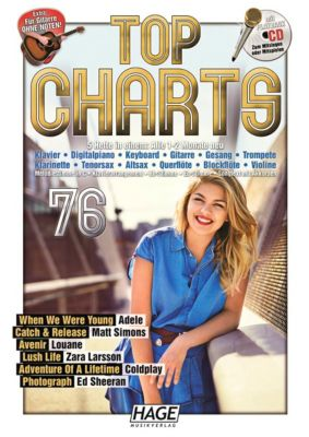 Top Charts 76, mit Playback CD
