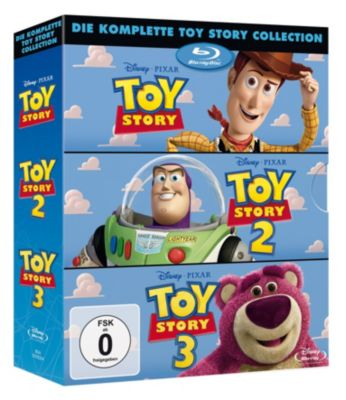 Toy Story 1-3 Box