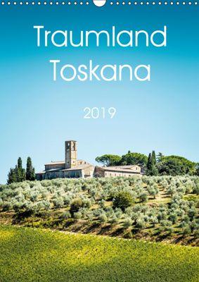 Traumland Toskana (Wandkalender 2019 DIN A3 hoch), Wolfgang Zwanzger