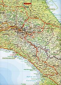Travelmap Reisekarte Costa Rica 1:700.000 - Produktdetailbild 2