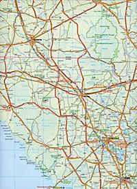 Travelmap Reisekarte Florida 1:800.000 - Produktdetailbild 2