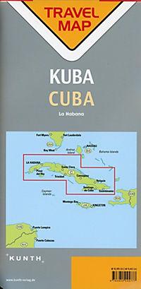 Travelmap Reisekarte Kuba / Cuba 1:800.000 - Produktdetailbild 1