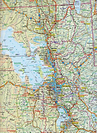 Travelmap Reisekarte Nevada / Utah / Colorado 1:800.000 - Produktdetailbild 2