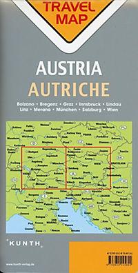 Travelmap Reisekarte Österreich 1:300.000; Austria; Autriche - Produktdetailbild 1