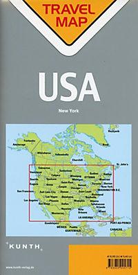 Travelmap Reisekarte USA 1:4 Mio - Produktdetailbild 1