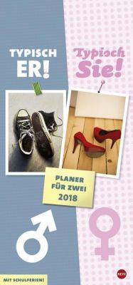 Typisch Er Typisch Sie Planer 2018