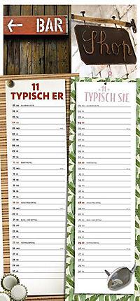 Typisch Er Typisch Sie Planer 2018 - Produktdetailbild 11