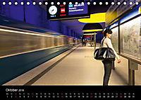 U-Bahn in München (Tischkalender 2018 DIN A5 quer) - Produktdetailbild 10