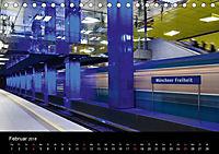 U-Bahn in München (Tischkalender 2018 DIN A5 quer) - Produktdetailbild 2