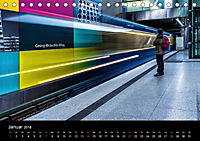 U-Bahn in München (Tischkalender 2018 DIN A5 quer) - Produktdetailbild 1