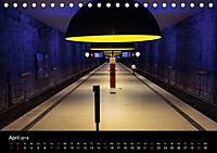 U-Bahn in München (Tischkalender 2018 DIN A5 quer) - Produktdetailbild 4