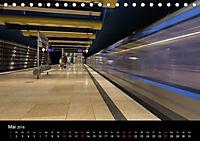 U-Bahn in München (Tischkalender 2018 DIN A5 quer) - Produktdetailbild 5