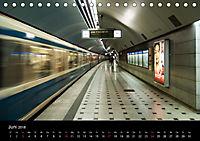 U-Bahn in München (Tischkalender 2018 DIN A5 quer) - Produktdetailbild 6