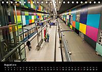 U-Bahn in München (Tischkalender 2018 DIN A5 quer) - Produktdetailbild 8
