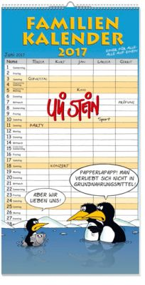 U. Stein Familien-Kalender 2017