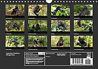 Ugandas friedliche Berggorillas (Wandkalender 2018 DIN A4 quer) Dieser erfolgreiche Kalender wurde dieses Jahr mit gleic - Produktdetailbild 13
