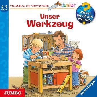 Unser Werkzeug, 1 Audio-CD, Daniela Prusse