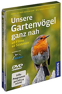 Unsere Gartenvögel ganz nah, 1 DVD - Produktdetailbild 1