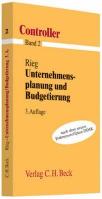 Unternehmensplanung und Budgetierung, Robert Rieg