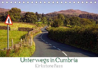 Unterwegs in Cumbria - Krikstone Pass (Tischkalender 2019 DIN A5 quer), Petra Voß