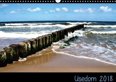 Usedom 2018 (Wandkalender 2018 DIN A3 quer), Janina Kufner