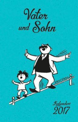 Vater und Sohn-Kalender 2017, E. O. Plauen