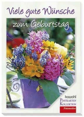 Viele Gute Wünsche zum Geburtstag, Postkarten-Buch