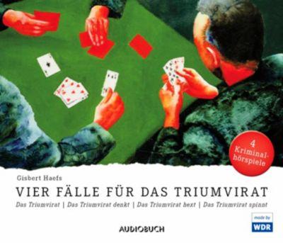 Vier Fälle für das Triumvirat, 4 CDs, Gisbert Haefs